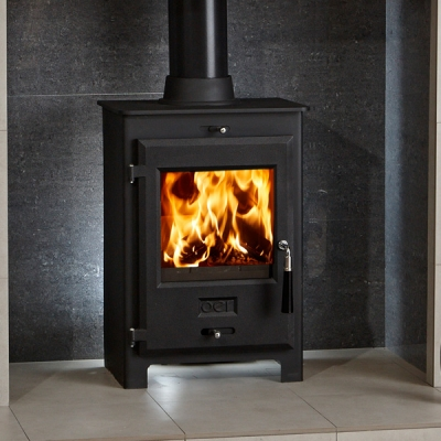OER 5 - 4.8kw Defra Approved Multifuel Wood Burning Stove