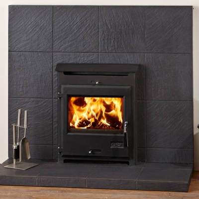 OER 4.5kw Defra Approved Multifuel Wood Burning Inset Stove