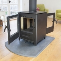 Mendip Loxton 8 - 8kw Defra Double Sided Multifuel Stove