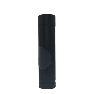 "500mm With Door Straight Length - Pellet Pipe 3"" (80mm)"