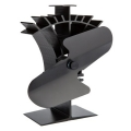 Woolly Mammoth Swift Stove Fan  - Black