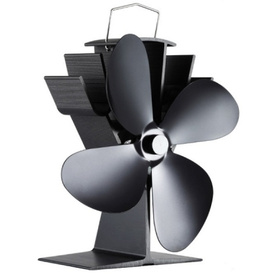 Woolly Mammoth Swift Plus Stove Fan  - Black
