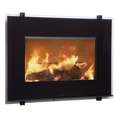 Hwam 30/55 7kw Defra Wood Burning Inset Stove With Side Hinged Door