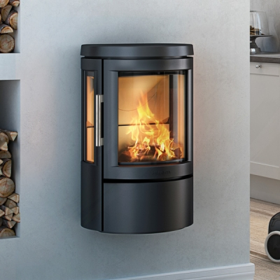 Hwam 2610 4.5kw Defra Wood Burning Stove With Side Glass