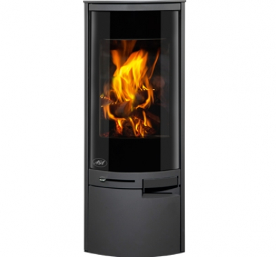 Aga Westbury 5.9kw Defra Approved Wood Burning Stove - Graphite