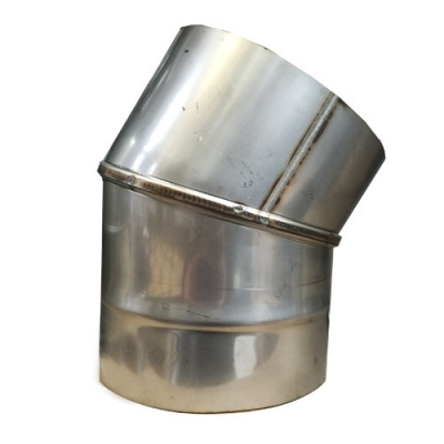 "8"" (200mm) Stainless Steel 30 Degree Elbow"