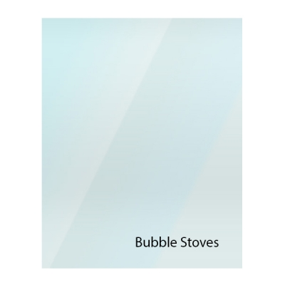 Bubble Replacement Stove Glass - Various Models
