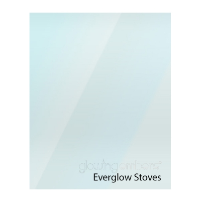 Everglow Replacement Stove Glass - Various Models