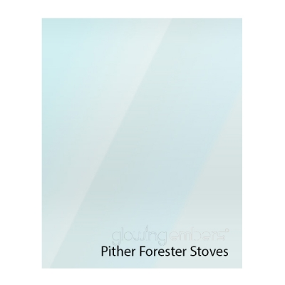 Pither Forester Replacement Stove Glass - Various Models
