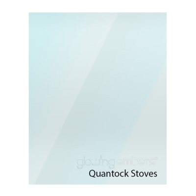 Quantock Replacement Stove Glass - Various Models