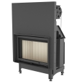 Kratki Zibi 11kw Inset Wood Burning Stove With Guillotine Door - ZIBI/G