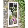 La Hacienda Tall Rectangular Steel Garden Wall Mirror