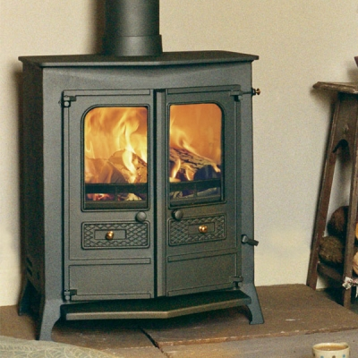 Charnwood Country 16B - 19.6kw Multifuel Boiler Stove (Black)