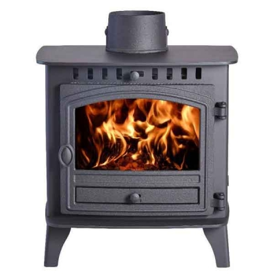 Hunter Herald 6 - 10.5kw Double Sided, Double Depth Wood Burning Stove