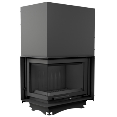 Kratki Maja 8kw Inset Wood Burning Stove With Left Side Glass & Guillotine Door - MAJA/L/BS/G