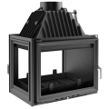 Kratki Zuzia 16kw Inset Wood Burning Stove With Left Side Glass - ZUZIA/L