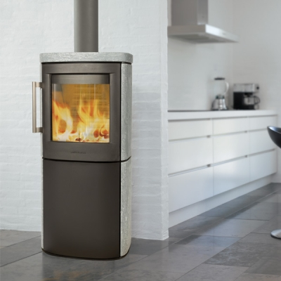 Hwam 4540 4.9kw Wood Burning Stove With Soapstone Cover