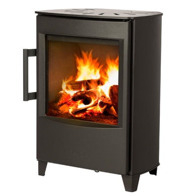 Wiking Mini 2 4.5kw Defra Wood Burning Stove With Low Legs