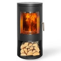 Opus Melody 5kw Wood Burning Stove With Log Store