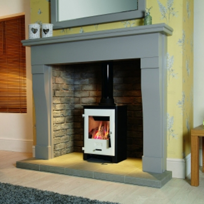 OER 3.9kw Gas Stove With White Enamelled Door - EX-DISPLAY