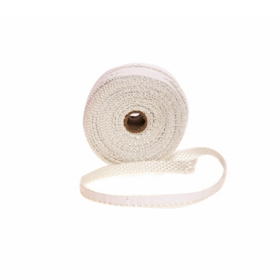25mm Flat Self Adhesive Fire Rope 30m Drum