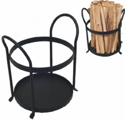 Kindling Holder Marton - Black