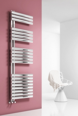 Reina Scalo 1120 X 500 Stainless Steel Contemporary Vertical Radiator