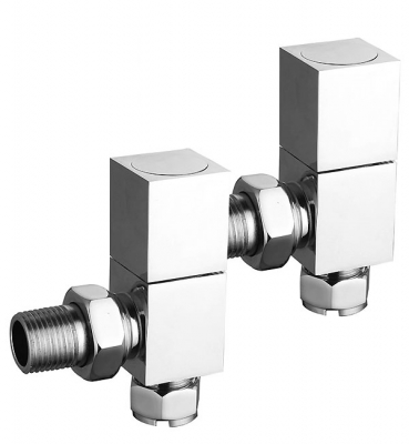 Richmond Angled Chrome Valves
