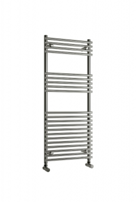 Reina Pavia 1200 X 500 Steel Modern Vertical Bathroom Towel Rail and Radiator