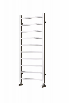 Reina Serena 1200 X 500 Steel Modern Vertical Bathroom Towel Rail and Radiator