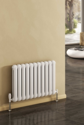 Reina Coneva Horizontal 550 X 790 Steel Dual Fuel Traditional Radiator - RAL Colours
