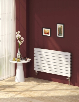Reina Rione Double 544 X 1400 Designer Steel Modern Horizontal Panelled Radiator - RAL Colours