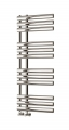 Reina Chisa 820 x 500 Steel Modern Vertical Bathroom Towel Rail and Radiator - RAL Colours
