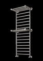 Reina Adena 1300 x 532 Stainless Steel Vertical Bathroom Towel Raid and Radiator with Shelves