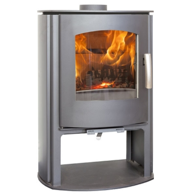 Mendip Churchill 5 - 5kw MK4 Convection Wood Burning Stove With Log Store