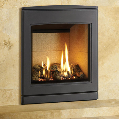 Yeoman CL530 4.8kw Inset LPG Gas Stove With Vermiculite Lining - For Conventional Flue