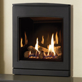 Yeoman CL530 4.8kw Inset LPG Gas Stove With Black Glass Lining - For Conventional Flue