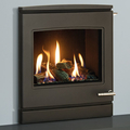Yeoman CL7 4.5kw Inset LPG Gas Stove With Slide Control & Log Effect - For Balanced Flue