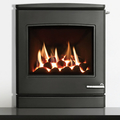 Yeoman CL7 4.5kw Inset Natural Gas Stove With Remote Control & Coal Effect - For Conventional Flue