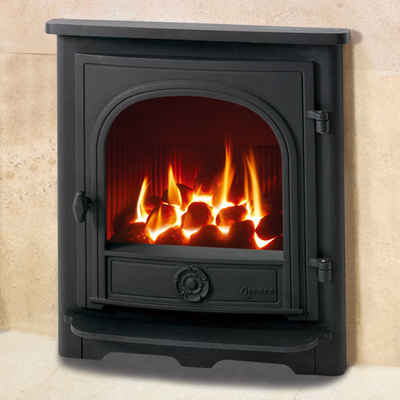 Yeoman Dartmouth 3.9kw Inset Natural Gas Stove With Remote Control - For Conventional Flue