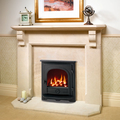 Yeoman Dartmouth 3.9kw Inset LPG Gas Stove With Remote Control - For Balanced Flue