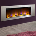 Celsi Electriflame VR Metz 1.6kw Inset Electric Fire - Silver
