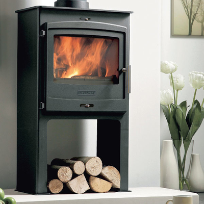 Portway 2 - 6.9kw Defra Multifuel Stove With High Legs