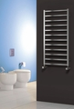 Reina Arden 1000 X 500 Brushed or Polished Stainless Steel Dual Fuel Vertical Towel Rail and Radiator
