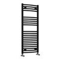 Reina Diva 1000 X 400 Steel Chrome Dual Fuel Modern Vertical Bathroom Towel Rail and Radiator