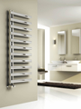 Reina Cavo 1580 X 500 Brushed or Polished Stainless Steel Dual Fuel Vertical Towel Rail and Radiator