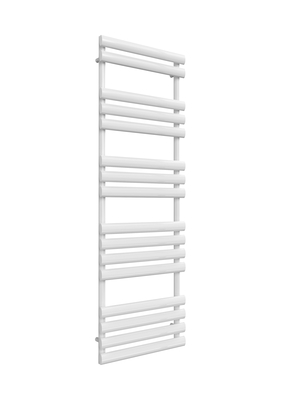 Reina Arbori Steel Modern Bathroom Towel Rail and Radiator - White