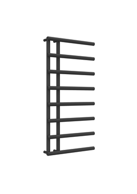 Reina Matera Steel Modern Vertical Bathroom Towel Rail and Radiator - Anthracite