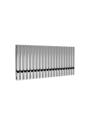 Reina Neval Aluminium Designer Double Horizontal Radiator - Polished