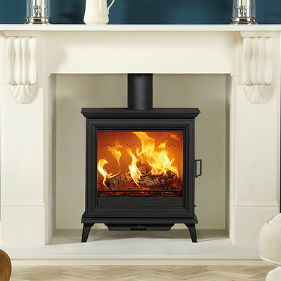 Stovax Sheraton 5 Wide - 5kw Defra Wood Burning Stove